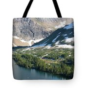 A Man Stand Up Paddle Boards Sup Tote Bag