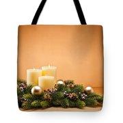 Advent Wreath Tote Bag