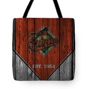 Baltimore Orioles Tote Bag