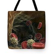 Blood Cells Tote Bag