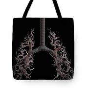Bronchial Branches Tote Bag