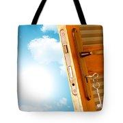Door To New World Tote Bag