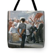 10. Jesus Before The People / From The Passion Of Christ - A Gay Vision Tote Bag