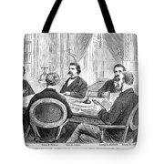 Johnson Impeachment, 1868 Tote Bag