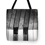 10 Keys Tote Bag
