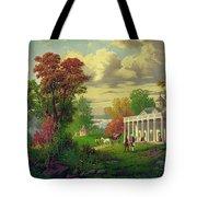 Mount Vernon Tote Bag