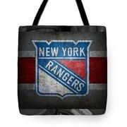 New York Rangers Tote Bag