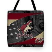 Phoenix Coyotes Tote Bag