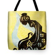 The Wise Virgin Tote Bag