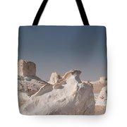 White Desert Tote Bag
