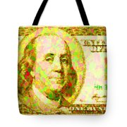 100 Dollar Tote Bag
