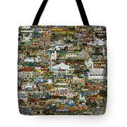 100 Painting Collage Tote Bag