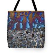 1001 Nights Over Granada Tote Bag