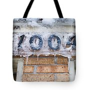 1004 Main Street Small Town Usa - Color Tote Bag