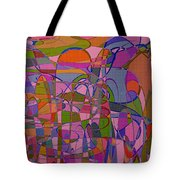 1008 Abstract Thought Tote Bag
