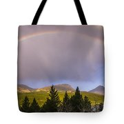 100801a-14 Two Medicine Rainbow Tote Bag