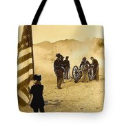 100th Anniversary Of Deactivation Ft. Lowell Tucson Arizona 1991 Toned 2008 Tote Bag