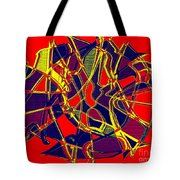 1010 Abstract Thought Tote Bag