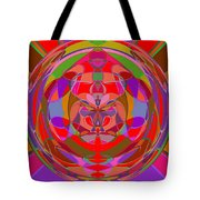 1015 Abstract Thought Tote Bag