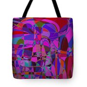 1016 Abstract Thought Tote Bag