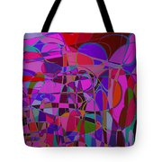 1017 Abstract Thought Tote Bag