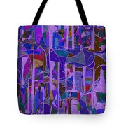 1022 Abstract Thought Tote Bag