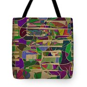 1023 Abstract Thought Tote Bag