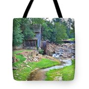 Sixes Mill - Dukes Creek - Square Tote Bag