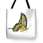 104 Perched Swallowtail Butterfly Tote Bag