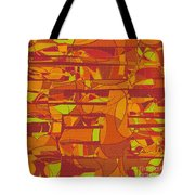 1045 Abstract Thought Tote Bag