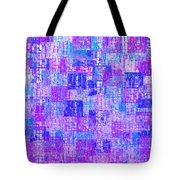 1065 Abstract Thought Tote Bag