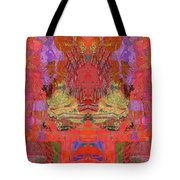 1074 Abstract Thought Tote Bag