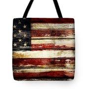 American Flag 33 Tote Bag