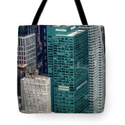 1095 Avenue Of The Americas Tote Bag