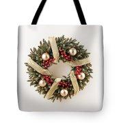 Advent Christmas Wreath  Tote Bag
