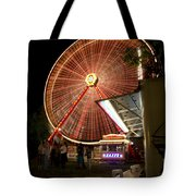 Amusement Park Tote Bag