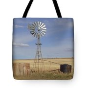 Australia - Windmill In The Wheat Field Tote Bag