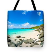 Beautiful Caribbean Beach Tote Bag