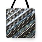 Canary Wharf London Abstract Tote Bag