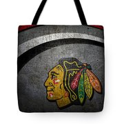 Chicago Blackhawks Tote Bag