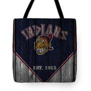 Cleveland Indians Tote Bag