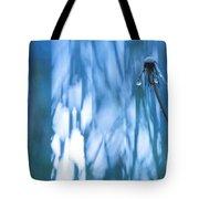 Dandelion Close-up View Backlit Tote Bag