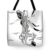 Dinka Dance - South Sudan Tote Bag