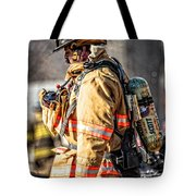 Firefighters Tote Bag