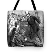 Garfield Assassination Tote Bag