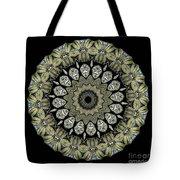 Kaleidoscope Ernst Haeckl Sea Life Series Tote Bag