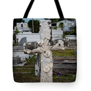 Key West Cemetery Tote Bag