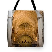 Mezquita Cathedral Interior In Cordoba Tote Bag