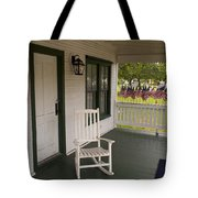 Ryckman House In Melbourne Beach Florida Tote Bag