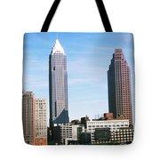 Skyscrapers In A City, Philadelphia Tote Bag